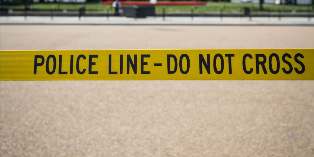 Image of Police Line tape.