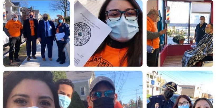 Rivera & crew seek vaccination sign-ups