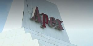 the Apex building