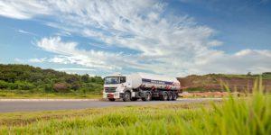 A fuel truck.