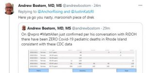 Bostom name-calling tweet