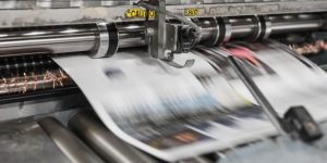 A printing machine