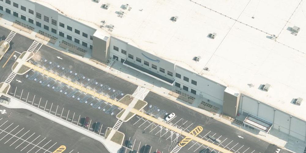 Aerial image of Bessemer, AL, Amazon