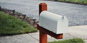 A mailbox
