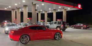 A gas shortage starts in South Carolina