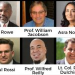 Panelists for Legal Insurrections Unity Not Division event