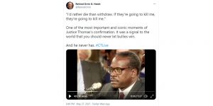 Orrin Hatch tweets Clarence Thomas clip
