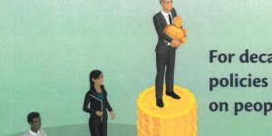 Race-baiting cartoon by Revenue for RI