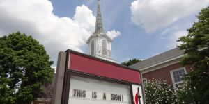 This Is A Sign church sign