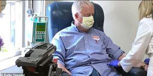 Marc Archambault receives treatment