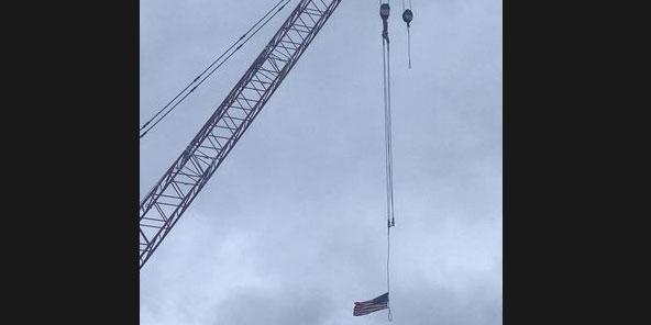 CCSU's crane nooses