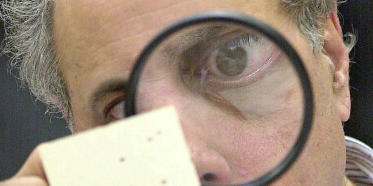 2000 image of ballot inspector