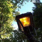 A streetlight