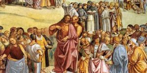Luca Signorelli, The Preaching of the Antichrist