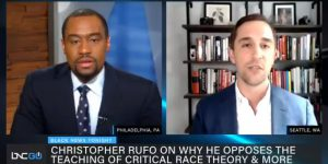 Marc Lamont Hill and Christopher Rufo