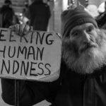 "Homeless man ""seeking human kindness"""