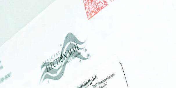 Mail ballot envelope