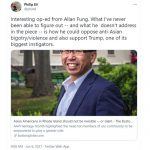 Phil Eil's tweet about Allan Fung