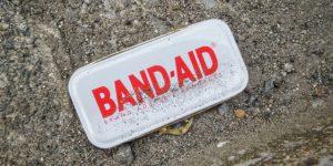 A Band-Aid lid