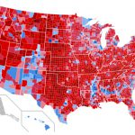 2020 Presidential vote by county