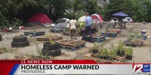 WPRI coverage of encampment