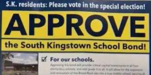 South Kingstown bond mailer
