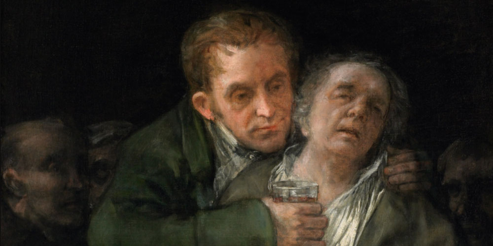 Goya Attended by Doctor