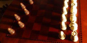 Chess versus checkers