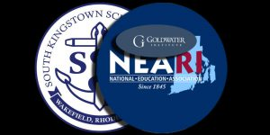SK schools, NEARI, and Goldwater logos