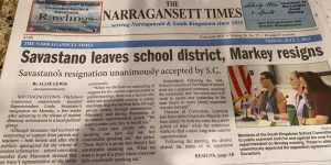 7/2/21 Narragansett Times front page