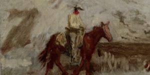 Thomas Eakins Cowboys in the Badlands