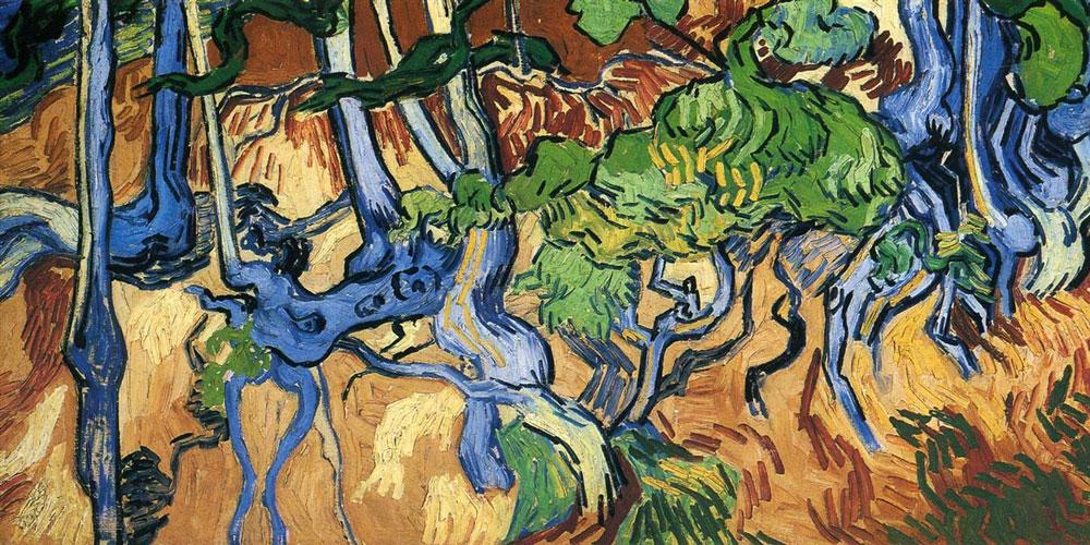 Vincent Van Gogh Tree Roots