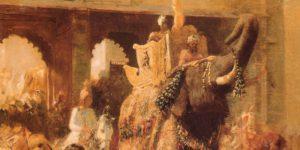 Edwin Lord Mills A Royal Procession