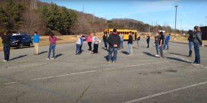 A high school privilege walk