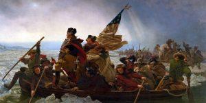 Washington Crosses the Delaware, by Emanuel Leutze