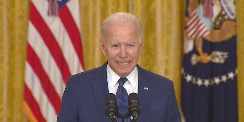 """Joe Biden """"We will not forget"""""""