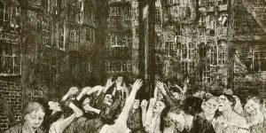 The Carmagnole (Dance Around the Guillotine) by Kathe Kollwitz