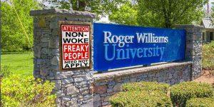 Roger Williams: Non-Woke Need Not Apply
