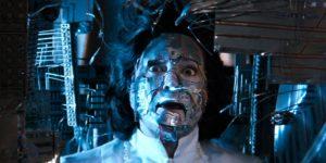 Cyborg transformation from Superman 3